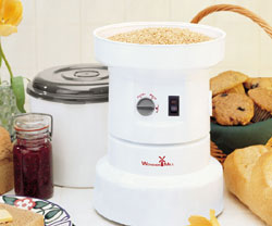 WonderMill Electric Grain Mill will it grind list