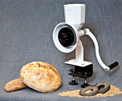 Wonder Junior Hand Grain Mill will it grind list